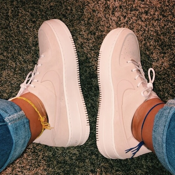 Nike Shoes | Dusty Rose Nike Air Force